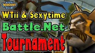Warcraft 3 - WTii & Sexytime #19   Battle.Net Tournament (2v2 AT #32)