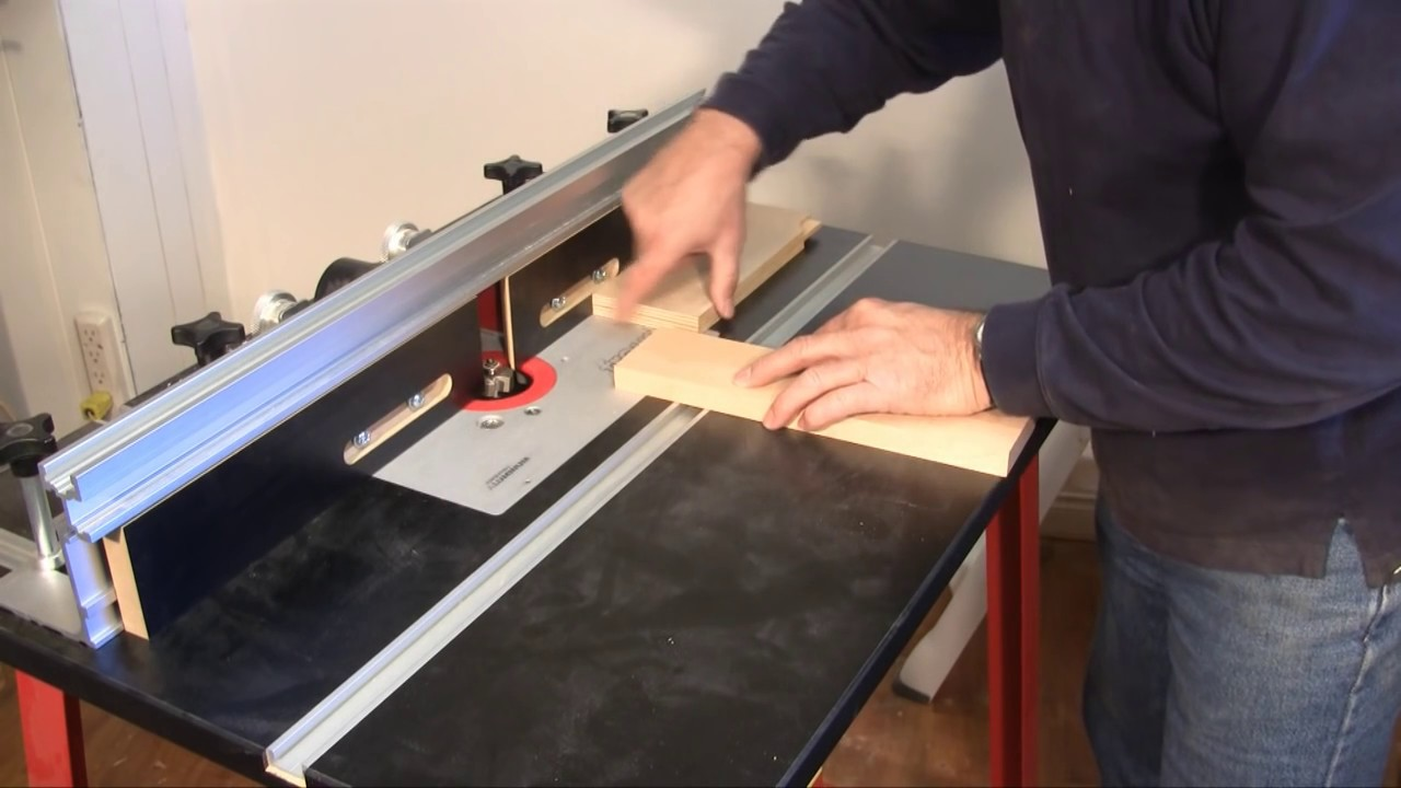 Setting Up And Using A Router Table A Woodworkweb Com