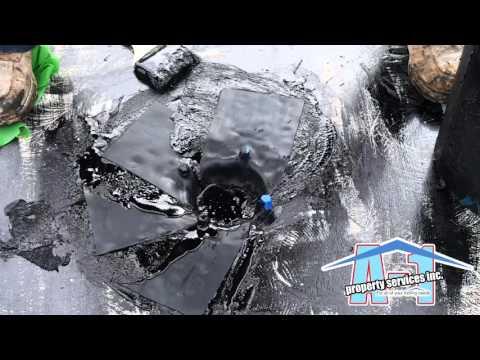 Colphene H drain flashing 1