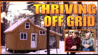 BUILDING THE ULTIMATE OFF GRID HOMESTEAD. A Full Year Summary Of Our Cabin Life Journey.