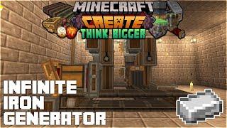 Surviving With Create 0.3.1 :: E10 - Infinite Iron Generator