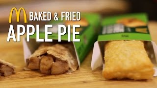McDonalds Baked & Fried Apple Pie