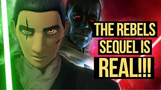 STAR WARS REBELS SEQUEL RUMORS ARE REAL! Full Breakdown Here!!