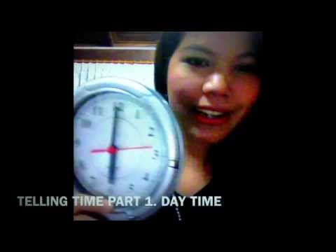 Thai language lesson - Telling Time In Thai part 1