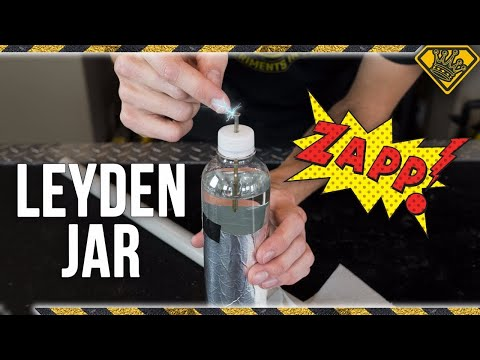 SHOCKING Science with a Leyden Jar