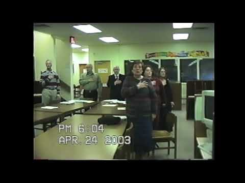 NCCS Board Meeting  4-24-03