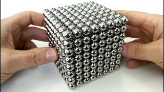 Playing with 512 Big Magnet Balls | Magnetic Games