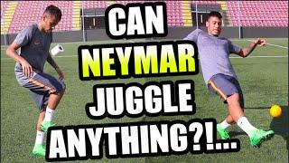 Can NEYMAR Juggle ANYTHING???...