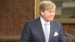 King of the Netherlands visits UK Parliament on 23 October 2018