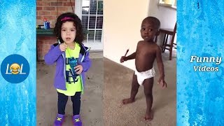 Funny Kids Fails Compilation   New Funny Kids Videos 2019