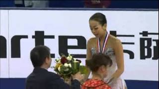 Cup of China 2012 - Ladies Victory Ceremony