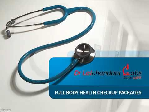 Get upto 65 % off on Full Body Checkup by [ Dr LalChandani Labs ]