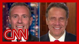Chris Cuomo jokes with his governor brother: You're single and ready to mingle