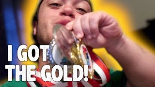 Brought Home the Gold!!!!!! (Dwarf Olympics)