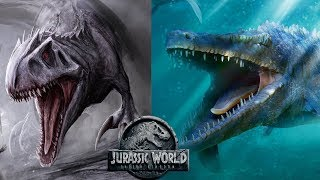 The True Danger In The Mosasaurus's Escape - I-Rex Similarities | Jurassic World 2 Theories