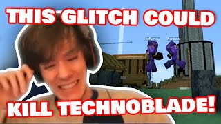 Fundy Explore New POWERFUL Glitch On DREAM SMP!  /w Ranboo, HBomb94