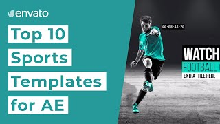 Top 10 Sports Broadcast Templates for After Effects [2019]