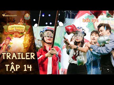 Thiên đường ẩm thực 6 | Trailer Tập 14: Chí Thiện bất lực trước đồng đội Hồ Bích Trâm, Thanh Trần