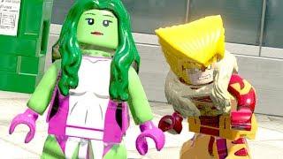 MULHER HULK DESBLOQUEADA no LEGO Marvel Super Heroes EXTRAS #24
