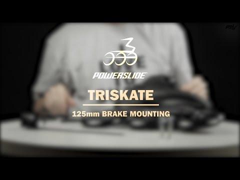 Video POWERSLIDE Frein MEGACRUISER 125mm