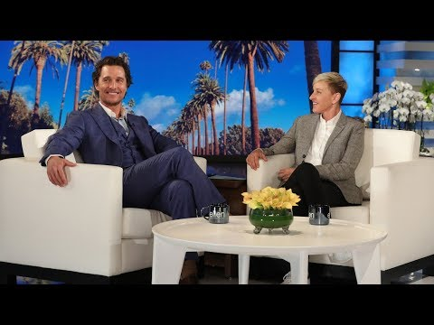 Matthew McConaughey Had the Time of His Life at a BTS Concert
