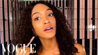 Jourdan Dunn Reveals the Secret Behind Her Model Glow   Beauty Secrets   Vogue