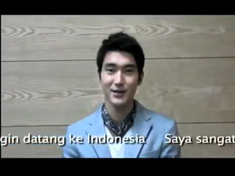 OFFICIAL : Permintaan Maaf Siwon untuk Fans Indonesia ELF ( Siwons's Official Apology to Fans)