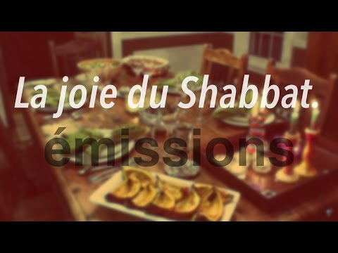 La joie du Shabbat