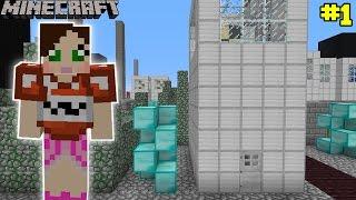 Minecraft – City – BUILDING BREAK IN CHALLENGE