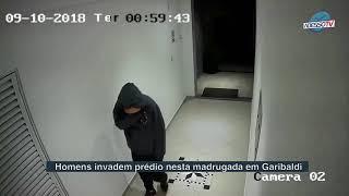 Homens invadem prédio no Centro de Garibaldi