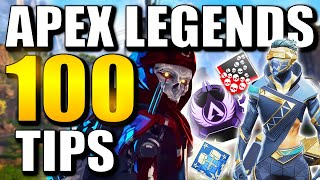 APEX LEGENDS TIPS AND TRICKS! | 100 TIPS TO IMPROVE YOUR GAME!