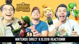 Nintendo Direct 9.13.18 Reaction!!!!