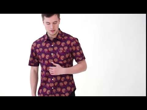 Stylish Printed Shirts For Men at Zobello