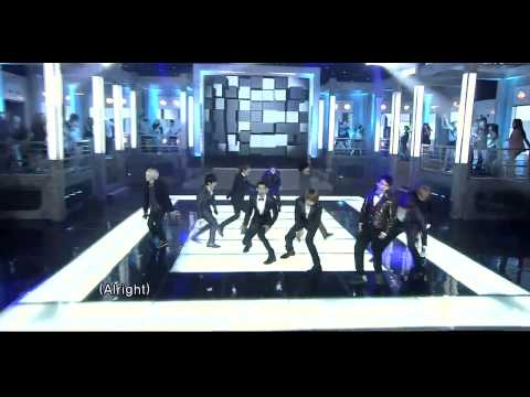 110821 Super Junior - Mr. Simple live