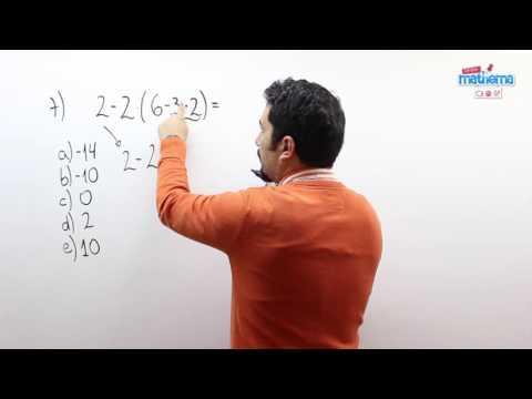 Prueba de números enteros 7