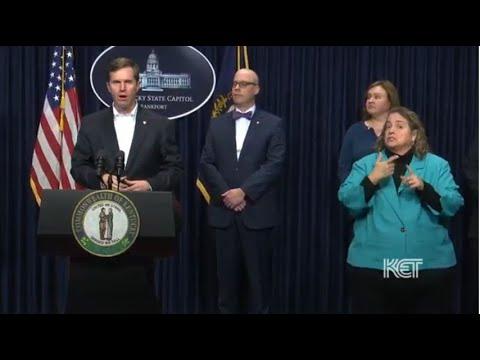Gov. Andy Beshear March 13 5:00 p.m. Update | Coronavirus | KET