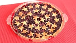 Homemade Blueberry Pie Recipe - Laura Vitale - Laura in the Kitchen Episode 607