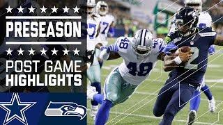 Cowboys vs. Seahawks   Game Highlights   NFL