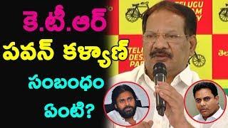 Nakka Anand Babu On KTR's Comment On Pawan Kalyan..