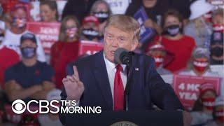 Trump, Biden visit key battleground states ahead of election