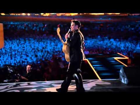 Robbie Williams - Better Man - Live at Knebworth