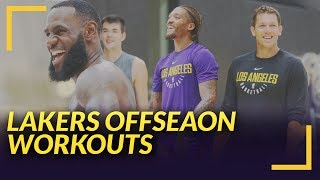 Lakers Nation News: LeBron, Beasley, Hart, Svi, and More Hit El Segundo for a Workout