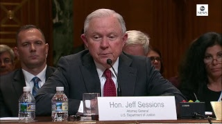 AG Sessions testifies on DOJ budget at Senate Appropriations Committee hearing