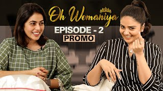 Promo of Sreemukhi's Oh Womaniya with actress Poorna..