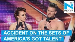 America's Got Talent: Couple's daring act goes horribly wr..