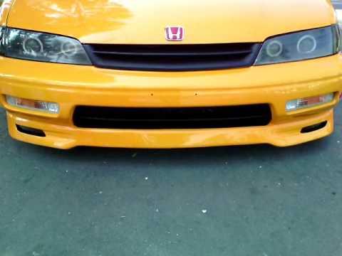Modifikasi Honda Accord Cielo TERKEREN ( Modif ceper velg rotrifrom, shock, Modif lampu & sunroof )