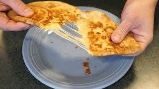 How to make a cheese quesadilla...the NeverenuffJimenez way!