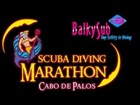 maraton de buceo scuba diving marathon balkysub