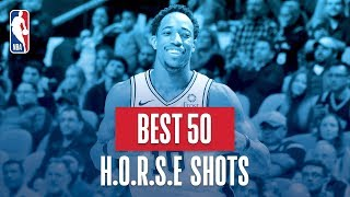 NBA's Best 50 H.O.R.S.E. Shots | 2018-19 NBA Regular Season