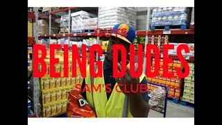 Guys being dudes Ep.1 (Pizza & Sam's Club)